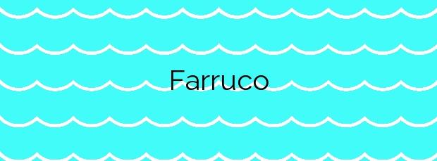 Información de la Playa Farruco en O Grove