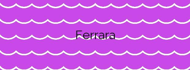 Información de la Playa Ferrara en Torrox