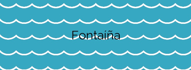 Información de la Playa Fontaíña en Vigo