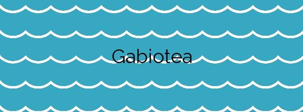 Información de la Playa Gabiotea en Boiro