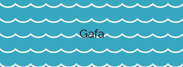 Información de la Playa Gafa en Porto do Son