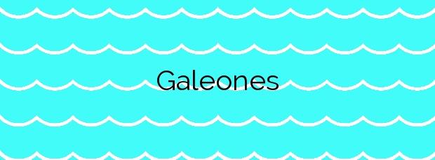 Información de la Playa Galeones en Rota