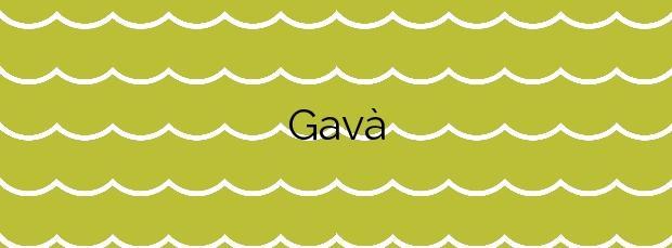 Información de la Playa Gavà en Gavà