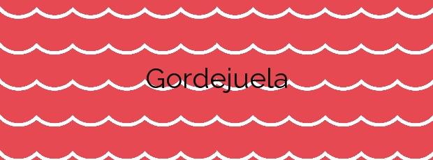 Información de la Playa Gordejuela en Los Realejos