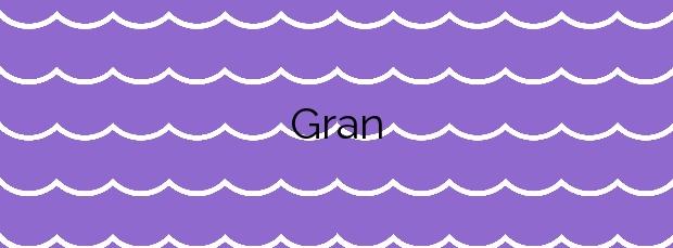 Información de la Playa Gran en Calella