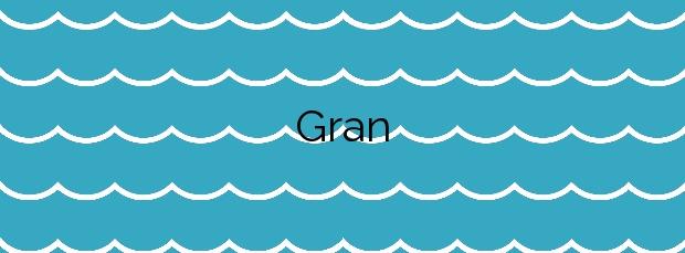 Información de la Playa Gran en Tossa de Mar