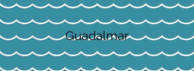Información de la Playa Guadalmar en Málaga