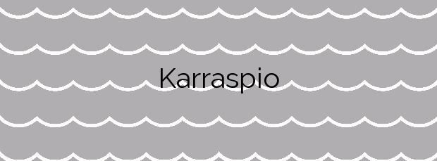 Información de la Playa Karraspio en Mendexa