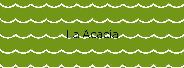 Información de la Playa La Acacia en Llanes