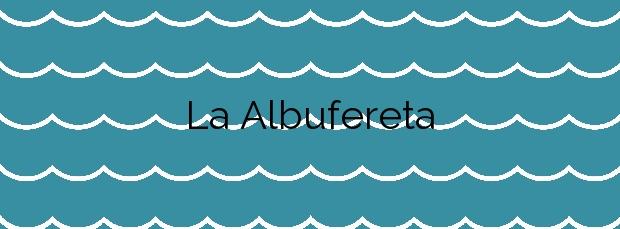 Información de la Playa La Albufereta en Alicante