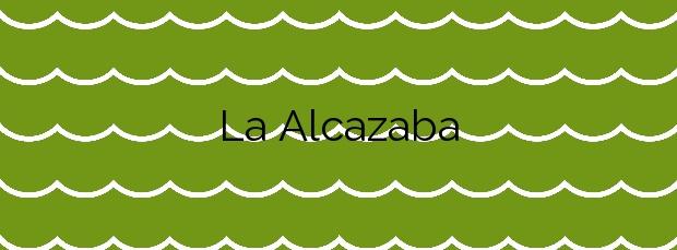 Información de la Playa La Alcazaba en Adra