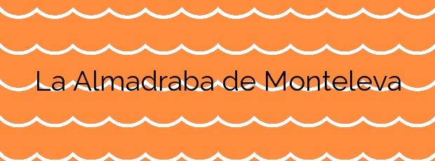 Información de la Playa La Almadraba de Monteleva en Almería