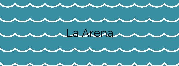 Información de la Playa La Arena  en Zierbena