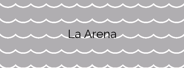 Información de la Playa La Arena en Arnuero