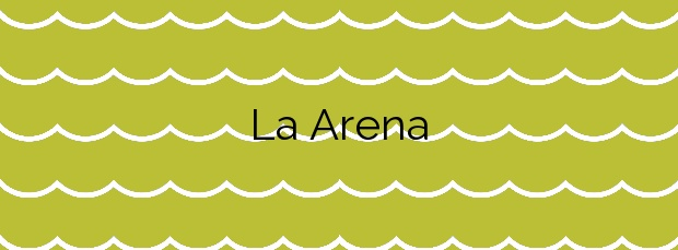 Información de la Playa La Arena en Arrecife