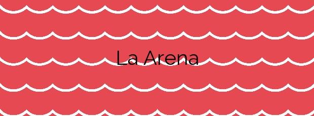 Información de la Playa La Arena en Tacoronte