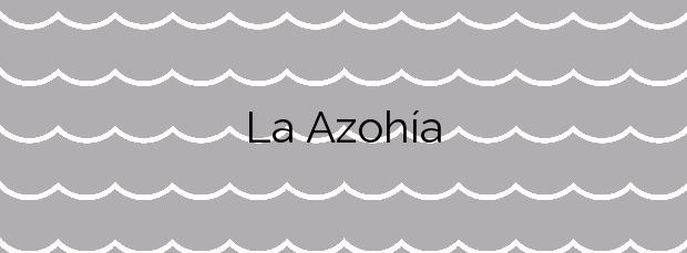 Información de la Playa La Azohía en Cartagena