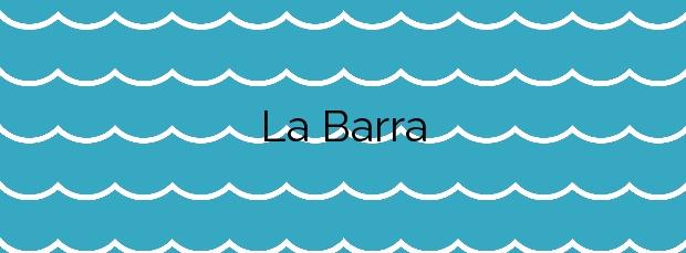 Información de la Playa La Barra en La Oliva