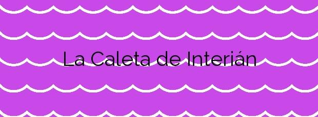 Información de la Playa La Caleta de Interián en Garachico