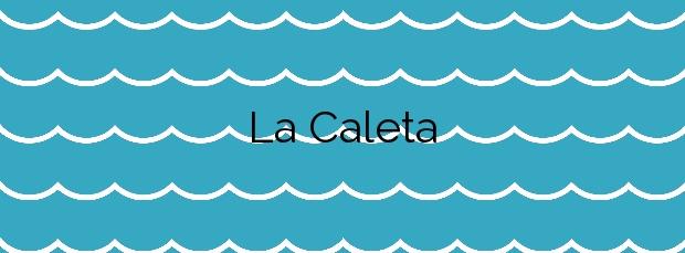 Información de la Playa La Caleta en Valverde