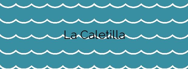 Información de la Playa La Caletilla en Nerja