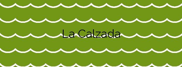 Información de la Playa La Calzada en Sanlúcar de Barrameda