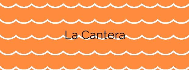 Información de la Playa La Cantera en Alajeró