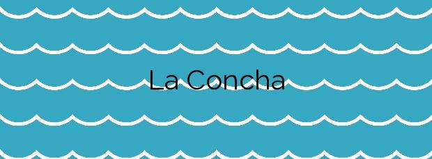Información de la Playa La Concha en Suances