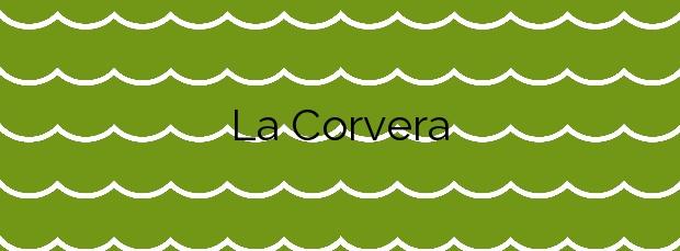 Información de la Playa La Corvera en Cudillero