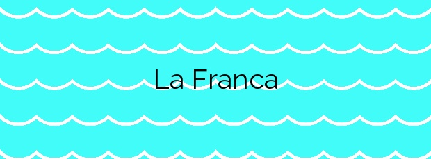 Información de la Playa La Franca en Ribadedeva