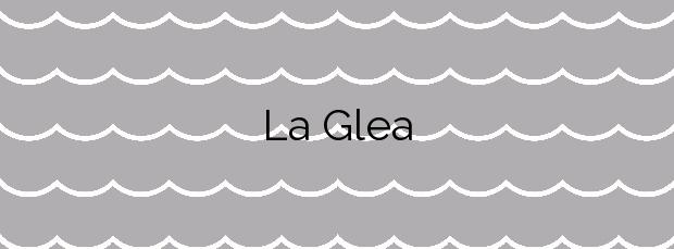 Información de la Playa La Glea en Orihuela