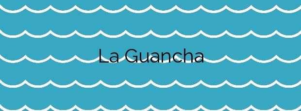 Información de la Playa La Guancha en San Sebastián de la Gomera