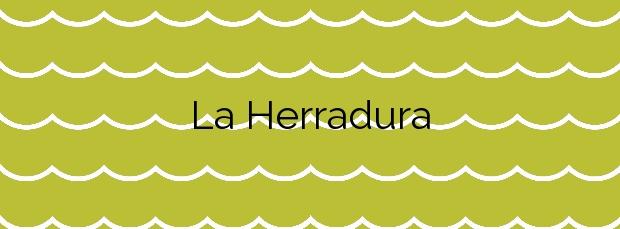 Información de la Playa La Herradura en Almuñécar