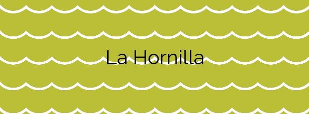 Información de la Playa La Hornilla en Candelaria