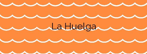 Información de la Playa La Huelga en Llanes