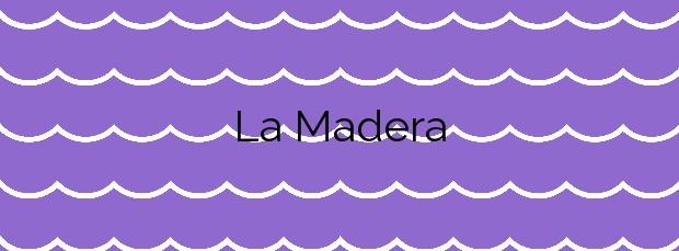 Información de la Playa La Madera en Tinajo