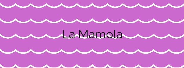 Información de la Playa La Mamola en Polopos