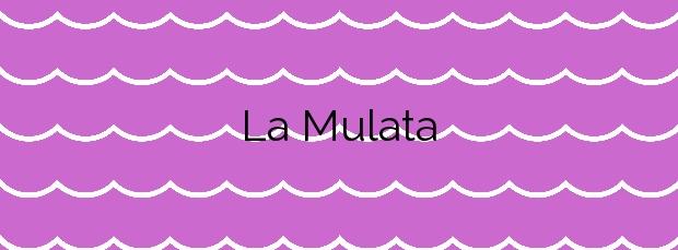 Información de la Playa La Mulata en Yaiza