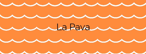 Información de la Playa La Pava en Mazarrón