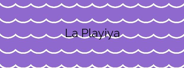 Información de la Playa La Playiya en Albuñol