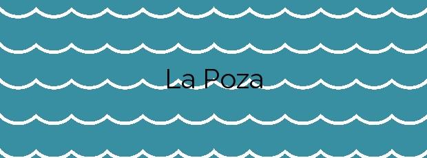 Información de la Playa La Poza en A Pobra do Caramiñal