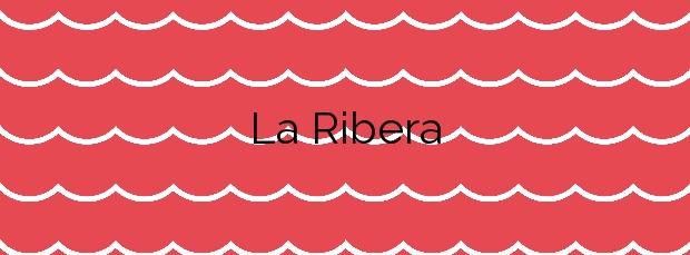 Información de la Playa La Ribera en Sitges