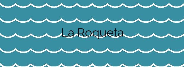 Información de la Playa La Roqueta en Guardamar del Segura