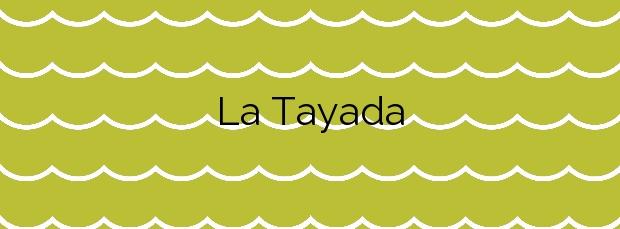 Información de la Playa La Tayada en Llanes