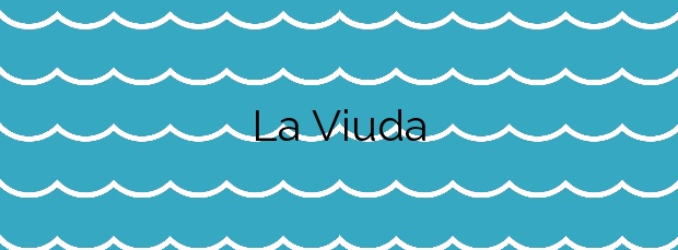 Información de la Playa La Viuda en Candelaria
