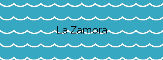 Información de la Playa La Zamora en Fuencaliente de la Palma