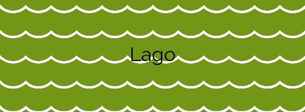 Información de la Playa Lago en Miño