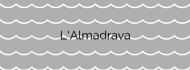Información de la Playa L'Almadrava en Vandellòs i l'Hospitalet de l'Infant