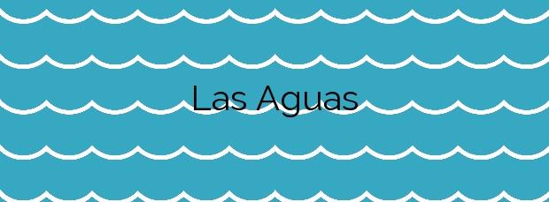 Información de la Playa Las Aguas en San Juan de la Rambla