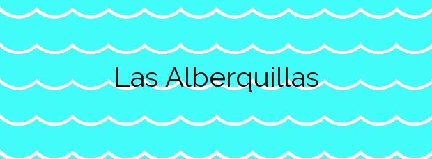 Información de la Playa Las Alberquillas en Nerja